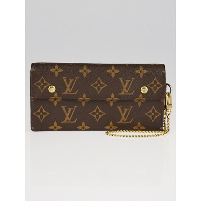 Louis Vuitton Monogram Canvas Accordeon Clutch Wallet