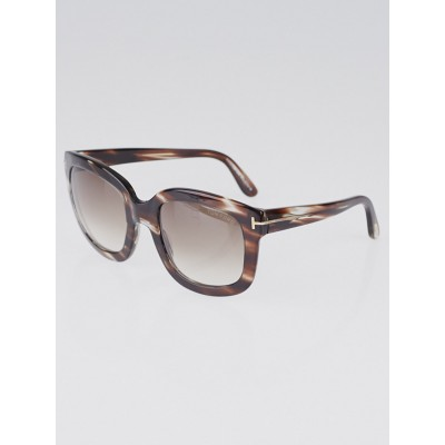 Tom Ford Tortoise Shell Acetate Frame Christophe Sunglasses TF279