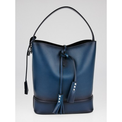 Louis Vuitton Bleu Cuir Nuance Leather NN 14 GM Bag