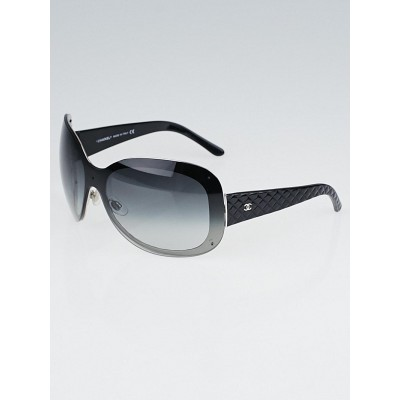Chanel Black Oversized Frame Gradient Tint Sunglasses-4159
