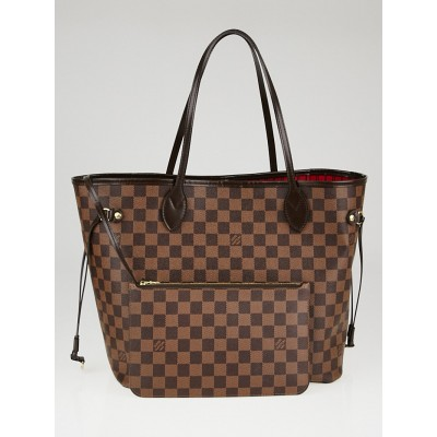 Louis Vuitton Damier Canvas Neverfull MM NM Bag