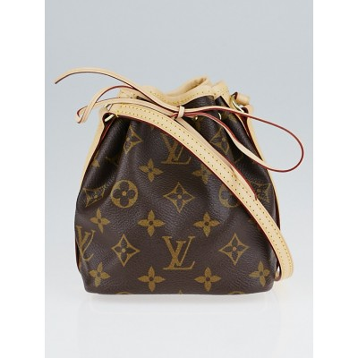 Louis Vuitton Monogram Canvas Noe Nano Bag