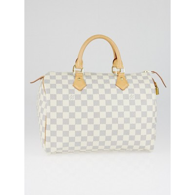 Louis Vuitton Damier Azur Canvas Speedy 30 NM Bag