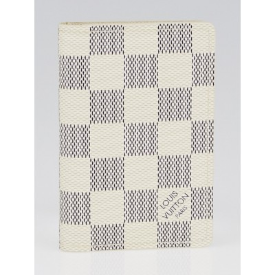 Louis Vuitton Damier Azur Canvas Pocket Organizer NM Wallet
