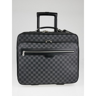 Louis Vuitton Damier Graphite Canvas Pilot Case