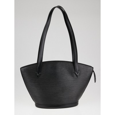 Louis Vuitton Black Epi Leather Saint Jacques PM Bag