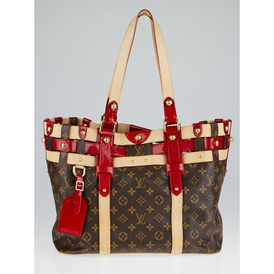 Louis Vuitton Limited Edition Monogram Canvas Rubis Salina MM Bag