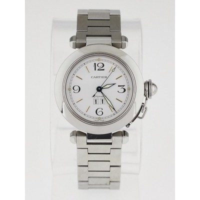 Cartier 35mm Stainless Steel Pasha C Automatic Watch W31044M7