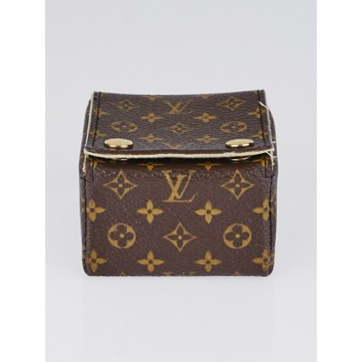 Louis Vuitton Monogram Canvas Mini Jewelry Box