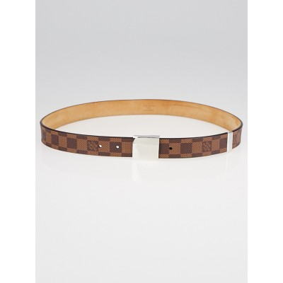 Louis Vuitton Damier Canvas Square Belt Size 90/36