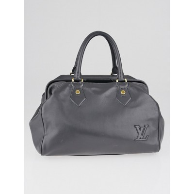 Louis Vuitton Limited Edition Gris Bleu Calf Leather Cinema Intrigue Bag