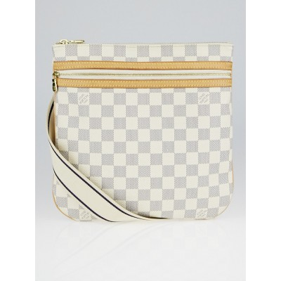 Louis Vuitton Damier Azur Canvas Pochette Bosphore Messenger Bag