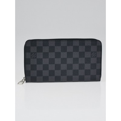Louis Vuitton Damier Graphite Canvas Zippy Organizer Wallet