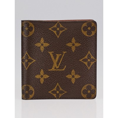 Louis Vuitton Monogram Canvas Billfold with Six Credit Card Slots Wallet