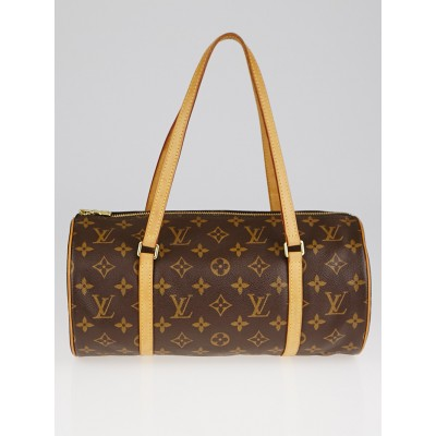 Louis Vuitton Monogram Canvas Papillon 30 Bag