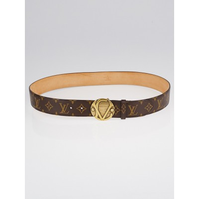Louis Vuitton Monogram Canvas Ceinture 1904 Belt Size 95/38