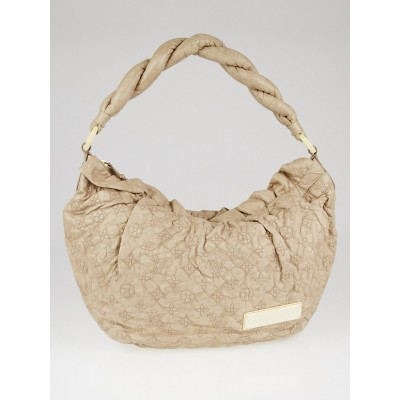 Louis Vuitton Limited Edition Beige Monogram Olympe Nimbus GM Bag