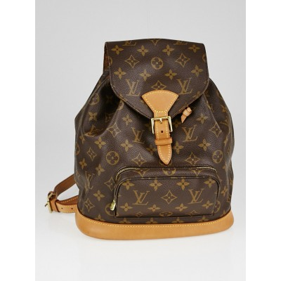 Louis Vuitton Monogram Canvas Montsouris MM Backpack Bag