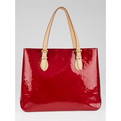 Louis Vuitton Pomme D'Amour Monogram Vernis Brentwood Bag