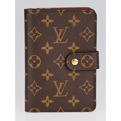 Louis Vuitton Monogram Canvas Large Zip Wallet