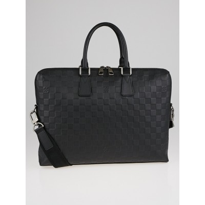 Louis Vuitton Onyx Damier Infini Leather Porte-Documents Jour Bag