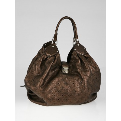 Louis Vuitton Metallic Mordore Monogram Mahina Leather XL Bag