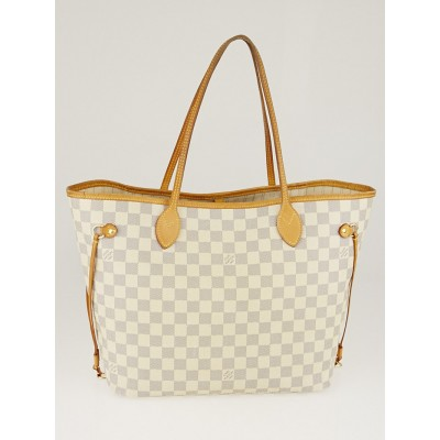 Louis Vuitton Damier Azur Canvas Neverfull MM Bag