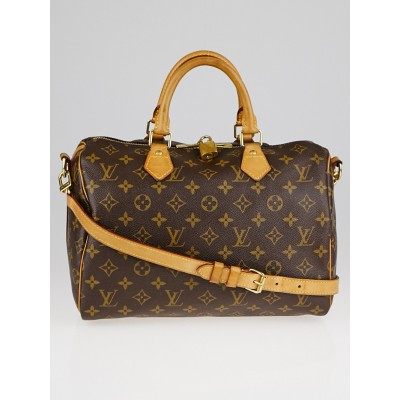 Louis Vuitton Monogram Canvas Speedy Bandouliere 30 Bag