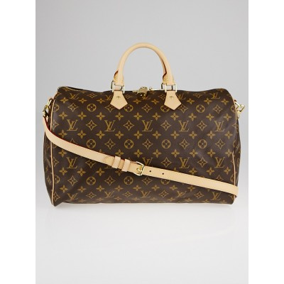 Louis Vuitton Monogram Canvas Speedy Bandouliere 40 Bag