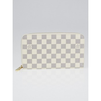 Louis Vuitton Damier Azur Canvas Zippy Organizer Wallet