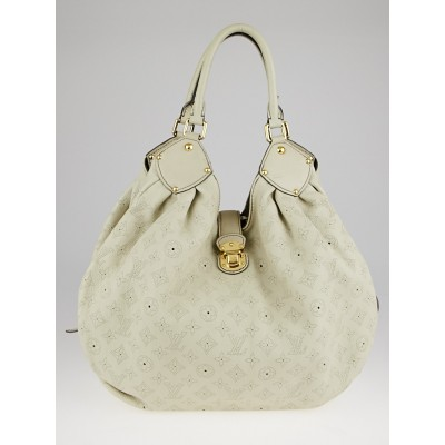 Louis Vuitton Lin Monogram Mahina Leather XL Bag