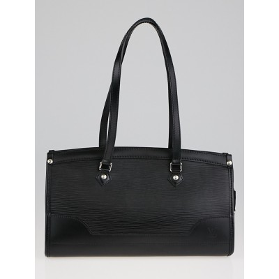 Louis Vuitton Black Epi Leather Madeleine PM Bag