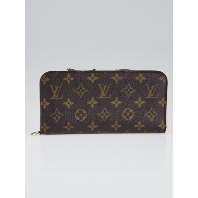 Louis Vuitton Monogram Canvas Red Insolite Wallet