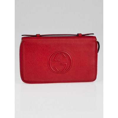 Gucci Tabasco Cellarius Leather Soho Travel Wallet
