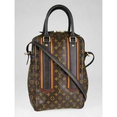 Louis Vuitton Limited Edition Monogram Bequia Canvas Porte Document Vertical Bag