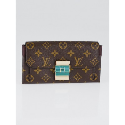 Louis Vuitton Bordeaux Monogram Canvas Elysee Wallet
