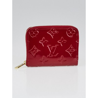 Louis Vuitton Pomme D'amour Monogram Vernis Zippy Compact Wallet