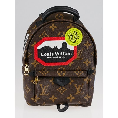 Louis Vuitton Monogram Canvas World Tour Palm Springs Backpack Mini Bag