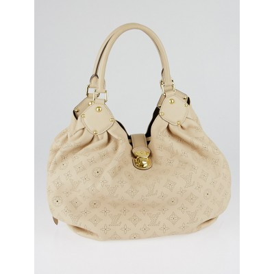 Louis Vuitton Sandy Monogram Mahina Leather L Bag