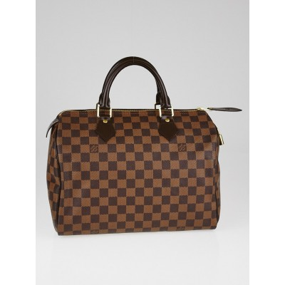 Louis Vuitton Damier Canvas Speedy 30 Bag