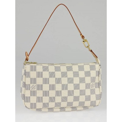 Louis Vuitton Azur Damier Canvas Accessories Pochette