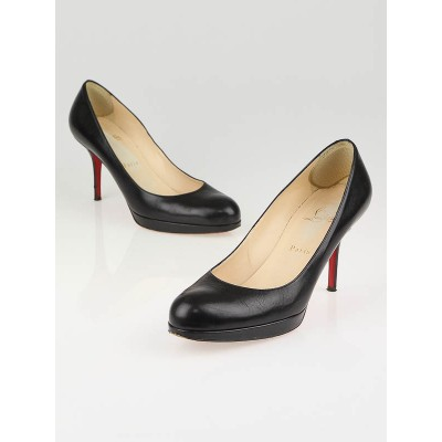 Christian Louboutin Black New Simple 85 Pumps Size 9.5/40
