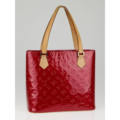 Louis Vuitton Pomme D'Amour Monogram Vernis Houston Bag