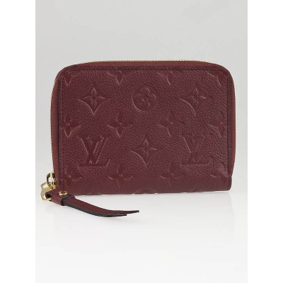 Louis Vuitton Flamme Monogram Empreinte Secret Compact Wallet
