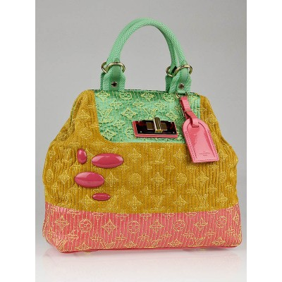 Louis Vuitton Limited Edition Pastel Monogram Motard Firebird Bag