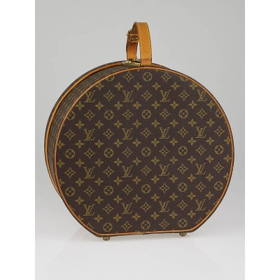 Louis Vuitton Monogram Canvas Boite Chapeaux Ronde Hat Box