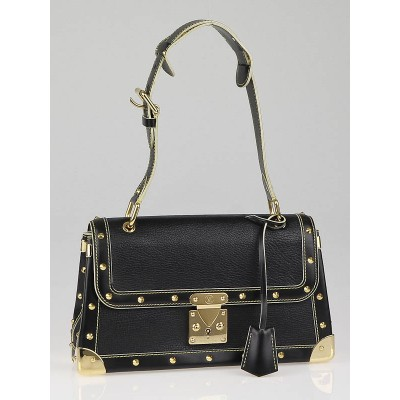 Louis Vuitton Black Suhali Leather Le Talenteux Bag