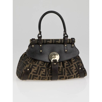 Fendi Tobacco Zucca Print Small Magic Bag