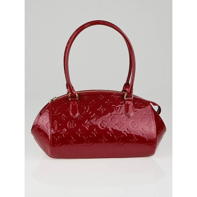 Louis Vuitton Pomme D'Amour Monogram Vernis Sherwood PM Bag