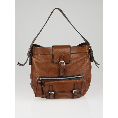 Chloe Brown Leather Edith Hobo Bag